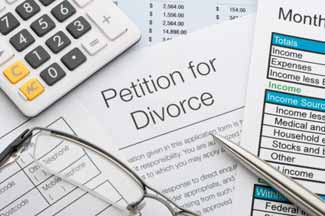 California divorce law forms.